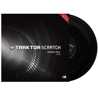 Купить Native Instruments Traktor Scratch Pro Control Vinyl Black Mk2 по лучшей цене