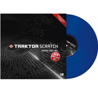 Купить Native Instruments Traktor Scratch Pro Control Vinyl Blue Mk2 по лучшей цене