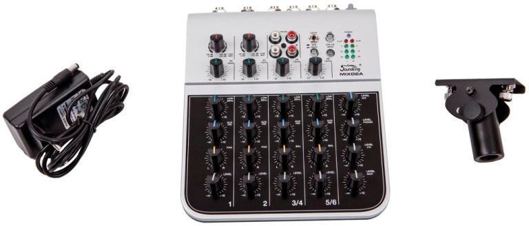 Soundking MIX02A Мини-микшерный пульт, 6 каналов