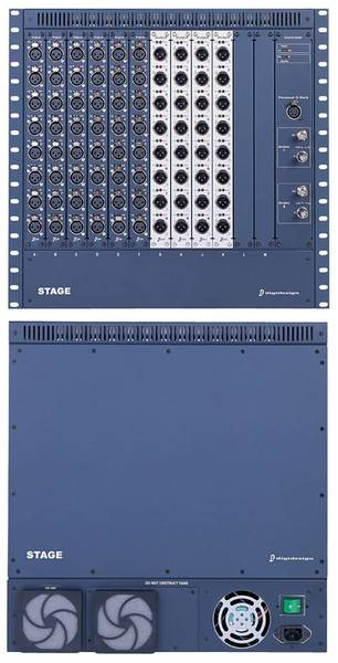 Avid Venue Stage Rack (48 in, 8 out), Redundant PSU