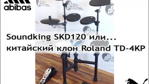 Soundking SKD120, или китайский клон Roland TD-4KP