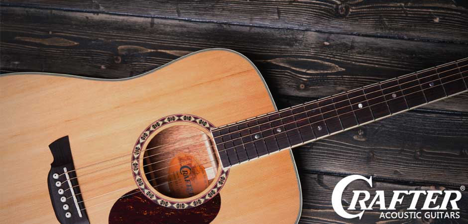 Crafter гитара акустика