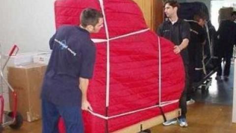 Как перевозят пианино