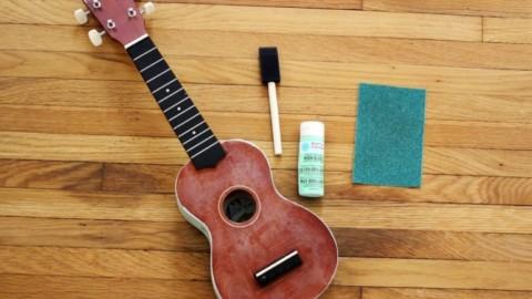 Как из гитары сделать укулеле