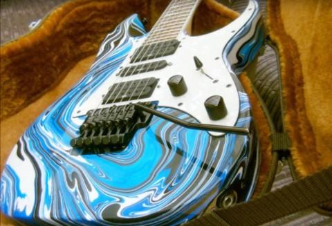 Все о покраске гитары