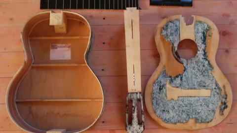 Поговорим про ремонт гитары своими руками
