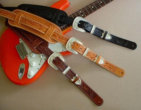 Делаем ремень для гитары своими руками