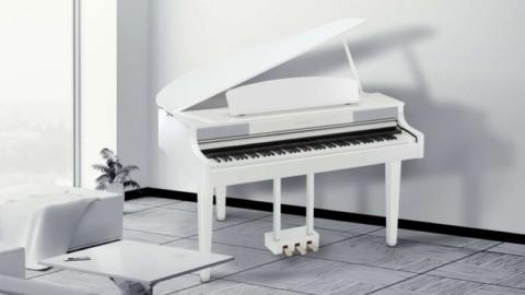 Выбираем цифровое пианино белого цвета